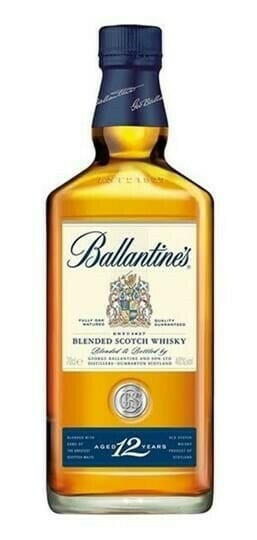 Image of   Ballantines 12 Yo Blended Scotch Fl 70