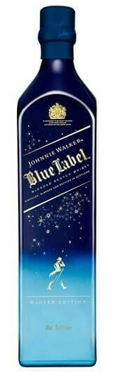 "Image of   Johnnie Walker Blue Label ""Winter Wonderland"" Fl 70"