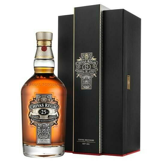 Image of   Chivas Regal 25 Yo Blended Scotch Fl 70