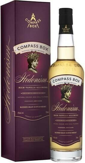 "Compass Box ""Hedonism"" Blended Scotch Fl 70"