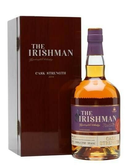 Image of   The Irishman Single Malt Cask Strength Fl 70