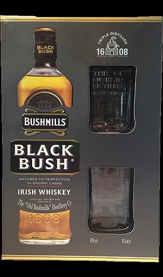 Image of   Bushmills 10 Yo Irish Single Malt M/2 Glas Fl 70