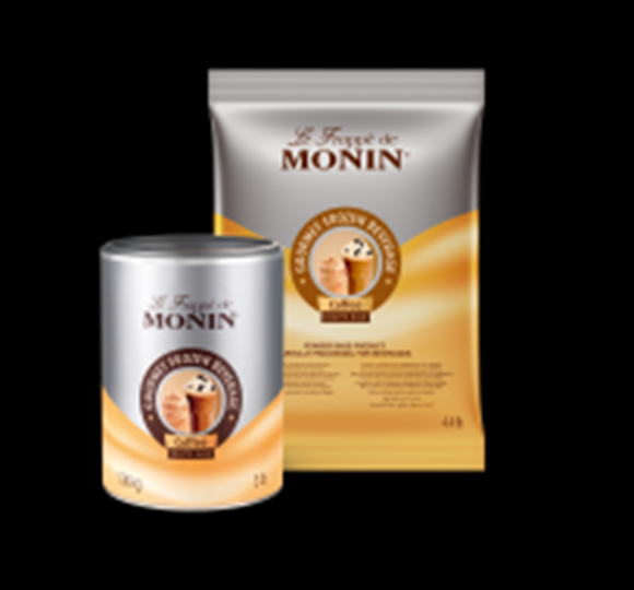 Image of   Monin Frappé Kaffe Base, 1,36kg Dåse