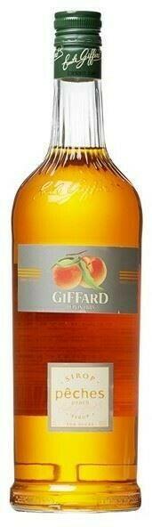 Image of   Giffard Syrup Peach / Fersken 1 Ltr