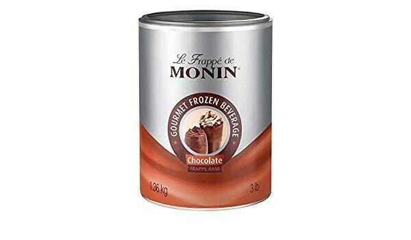 Image of   Monin Frappé Chocolate Base, 1,36kg Dåse