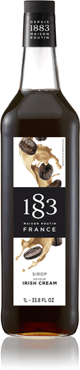 Image of   1883 Syrup Irish Cream 1 Ltr