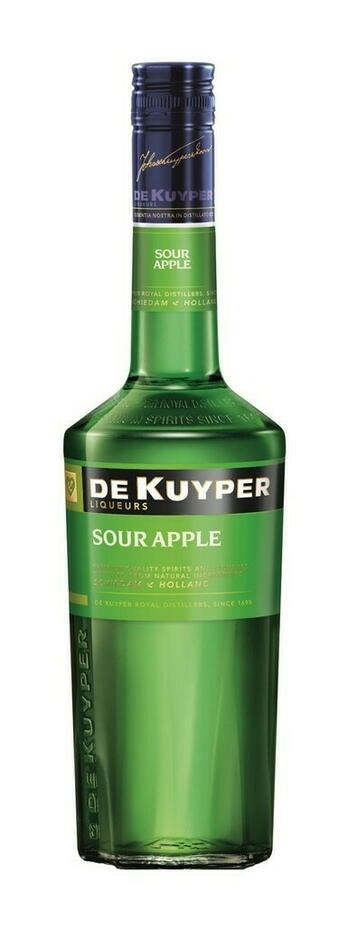 Image of   De Kuyper Liqueur Sour Apple / Sure Æbler Fl 70