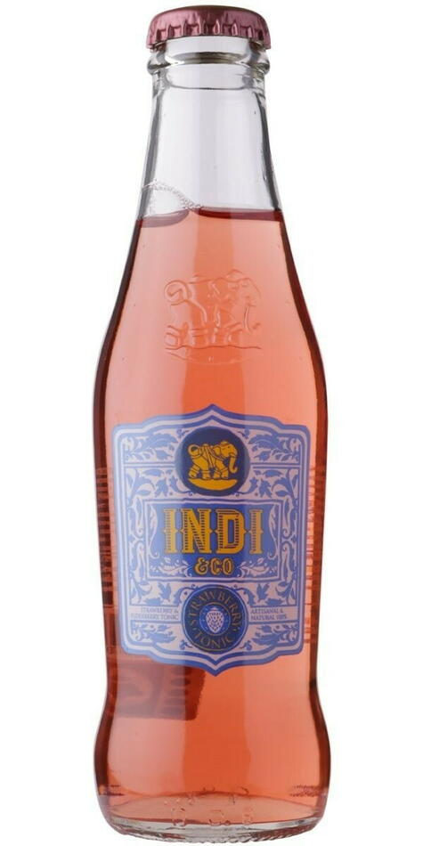 Image of   Indi & Co. Strawberry Tonic 20cl
