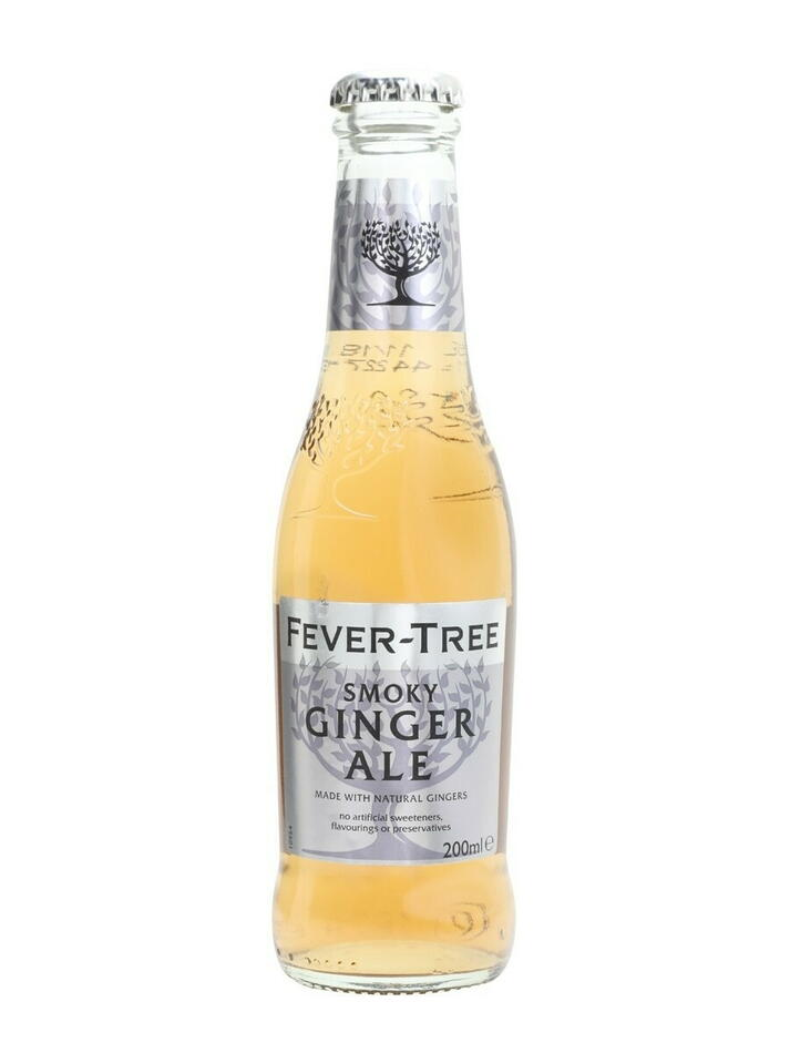 Image of   Fever-tree Smoky Ginger Ale 20cl