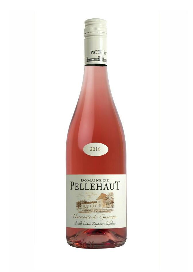 Image of   Domaine De Pellehaut, Harmonie De Gascogne Rosé 0,7 liter5 Ltr