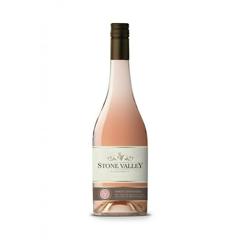 Image of   Stone Valley, White Zinfandel Rosé 0,7 liter5 Ltr