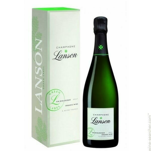 Image of   Lanson Champagne Green Label, Organic 0,7 liter5 Ltr