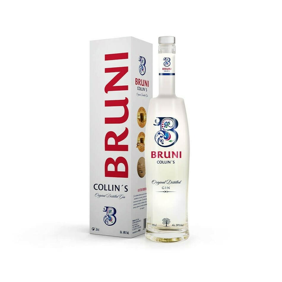 Image of   Bruni Collin's Gin Fl 70