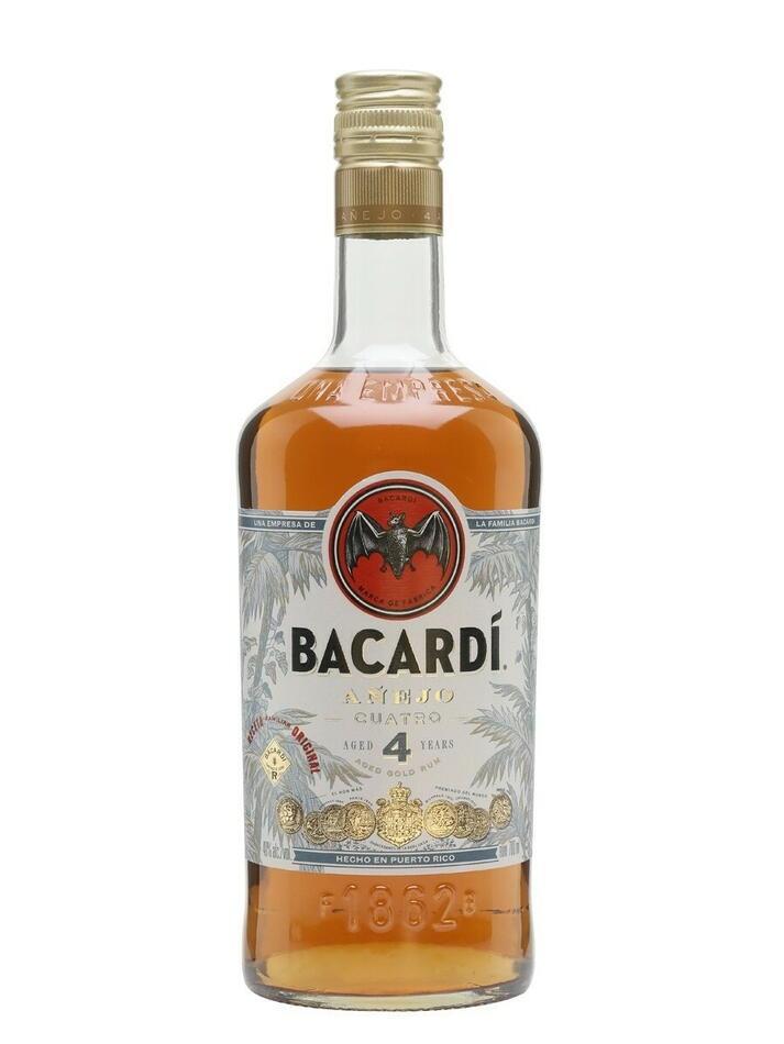 Image of   Bacardi 4 Yo Anejo Cuatro Fl 70