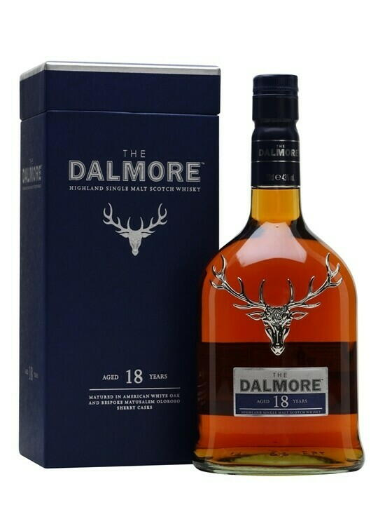 Image of   Dalmore 18 Yo Highland Single Malt Fl 70