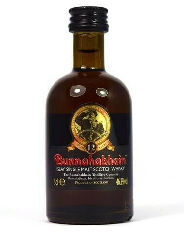 Image of   Bunnahabhain 12 Yo Islay Single Malt 5cl