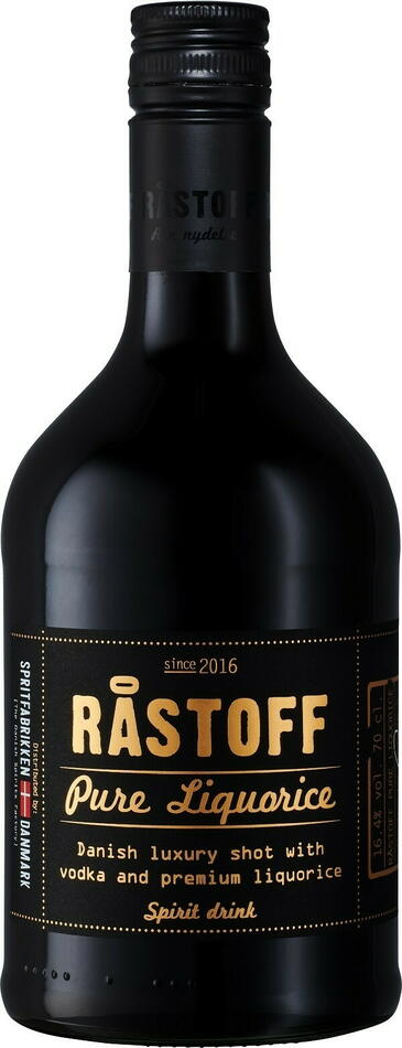 Image of   Råstoff Pure Liquorice Fl 70