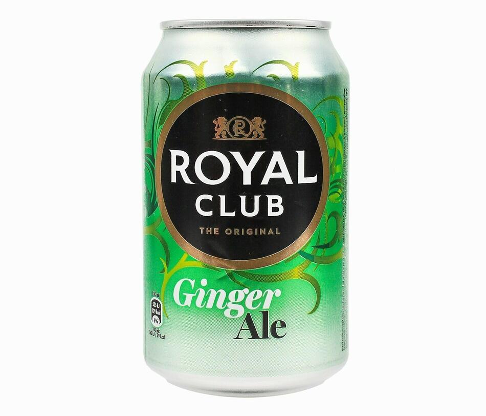 Image of   Royal Club Ginger Ale, Dåse 33cl Kasse