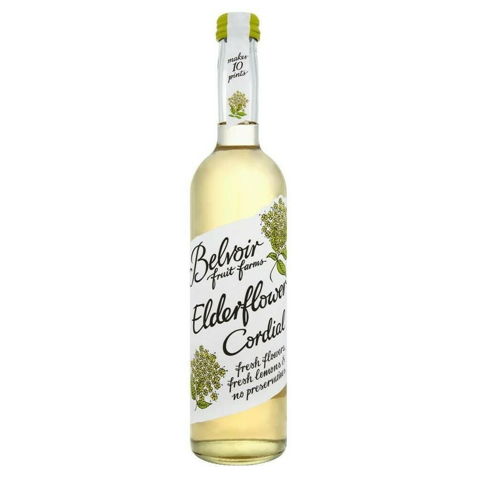 Image of   Belvoir Organic Elderflower Cordial Fl 50
