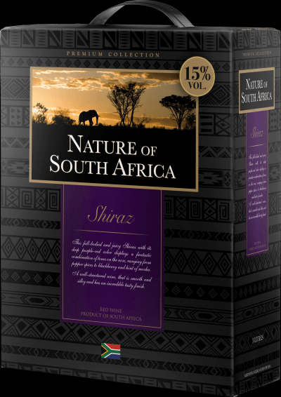Image of   Nature Of South Africa Shiraz (Bib) Krt 300