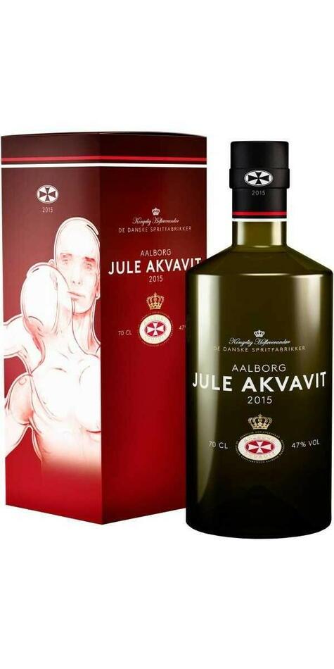 Image of   Aalborg Jule Akvavit 2015 Fl 70