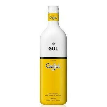Image of   Ga-jol Original Gul / Salt Lakrids 30%* 1 Ltr