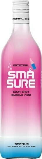 Image of   Små Sure Bubble Gum 1 Ltr