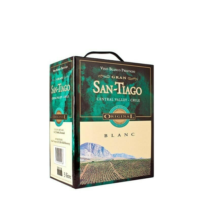 Image of   San-tiago Vino Blanco Prestigio (Bib) Krt 300