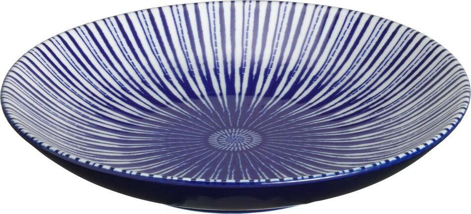 Image of   Porto tallerken flad blå ø15 cm