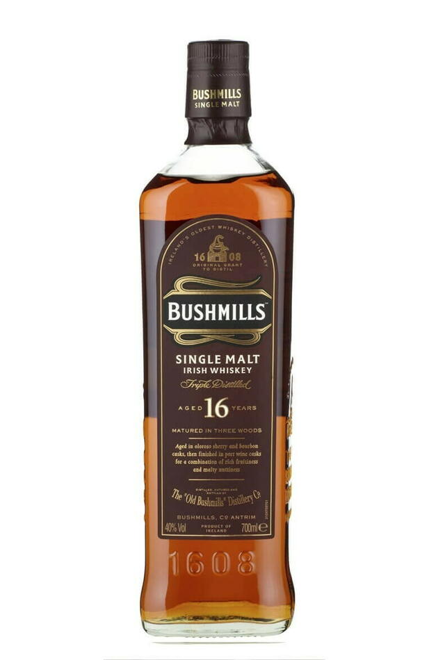 Image of   Bushmills 16 Yo Irish Single Malt Fl 70