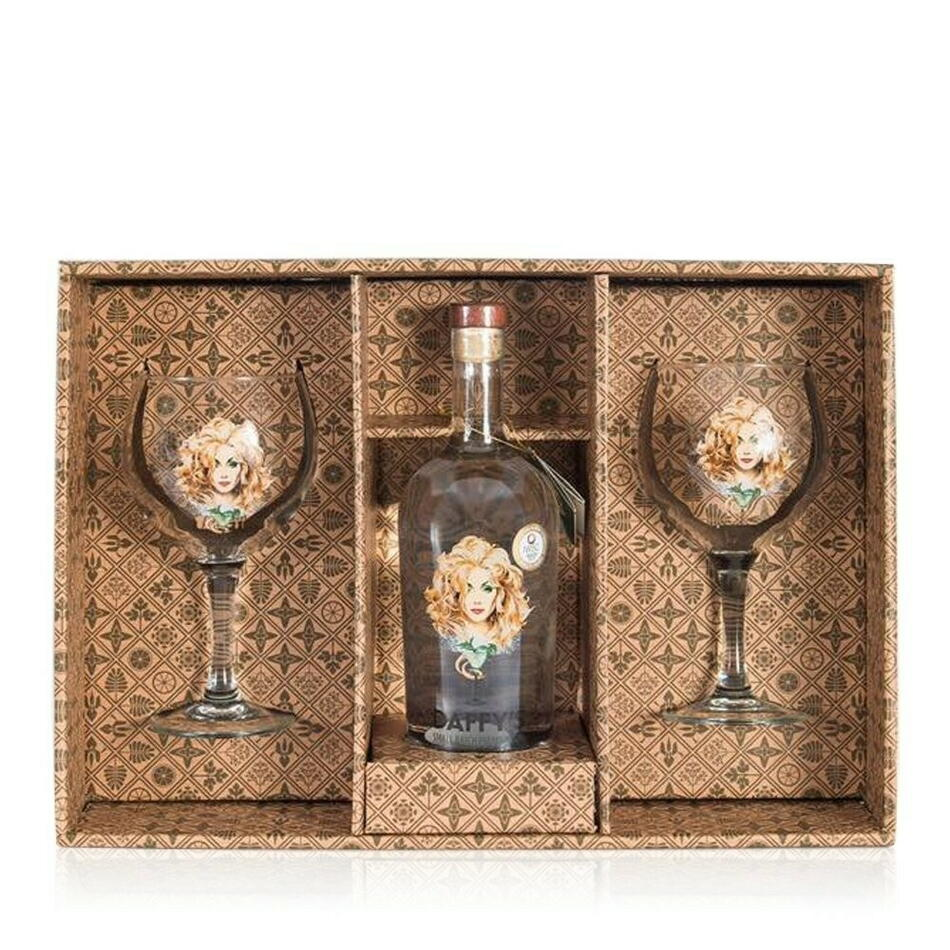 Image of   Daffys Gin Giftpack M/2 Glas