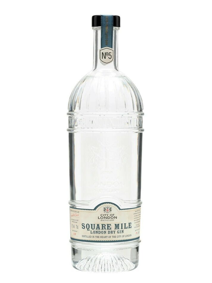 Image of   City Of London No.5 Square Mile Gin