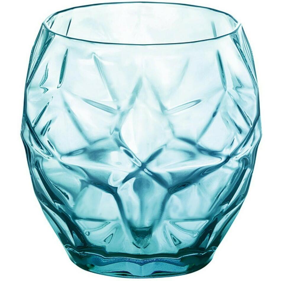 Image of   Bormioli Oriente drikkeglas, blå, 40 cl