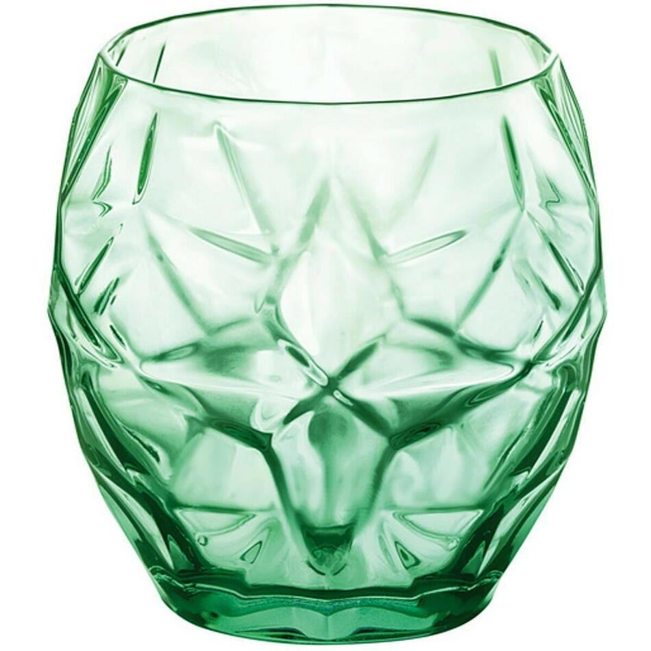 Image of   Bormioli Oriente drikkeglas, grøn, 40 cl