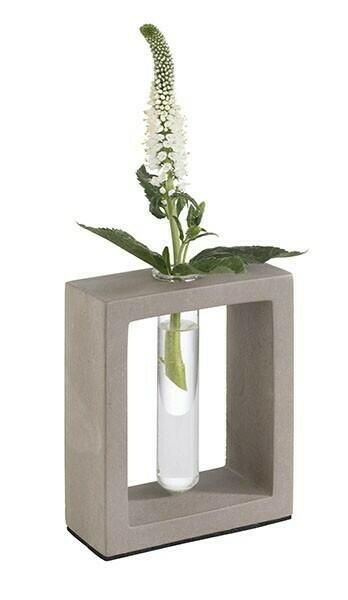 Image of Blomstervase Med Glasindsats 12,5cm