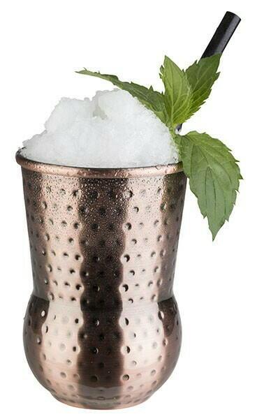 Image of   Barrel mug JULEP MUG- Hammeret Antik Kobber