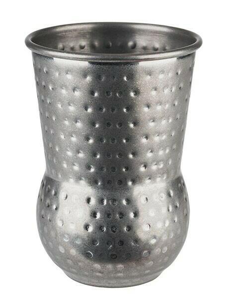 Image of   Barrel Mug Julep Mug- Hammeret Antik Stål