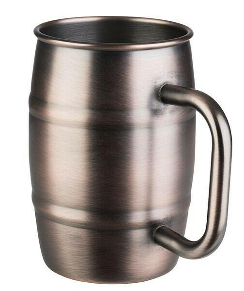 Image of   Barrel mug-BEER MUG- Antik Kobber