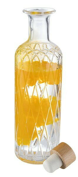 Image of   Glas karaffel-diamant- 28cm 0,8l