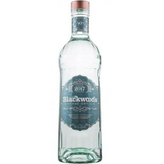 Image of   Blackwood's Vintage 2017 Dry Gin, 40%