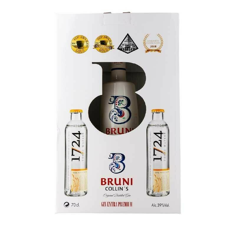 Image of   Bruni Collin's Gin M/2 Fl 1724 Tonic