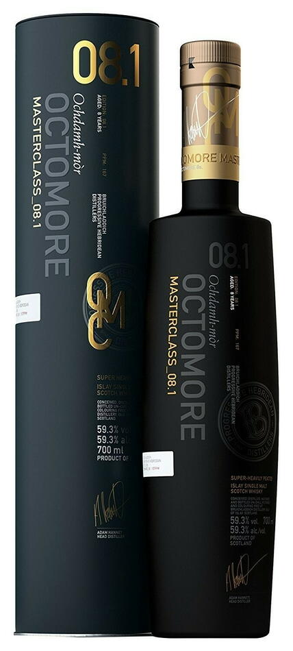 Image of   Bruichladdich Octomore 8.4 Islay Single Malt