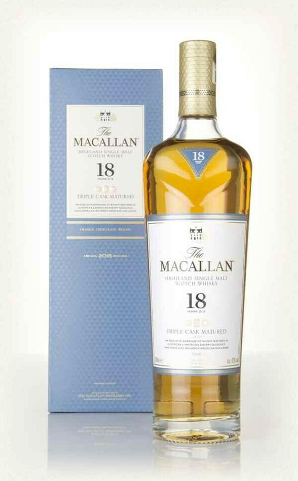 Image of   Macallan Triple Cask 18 Yo Speyside Single Malt
