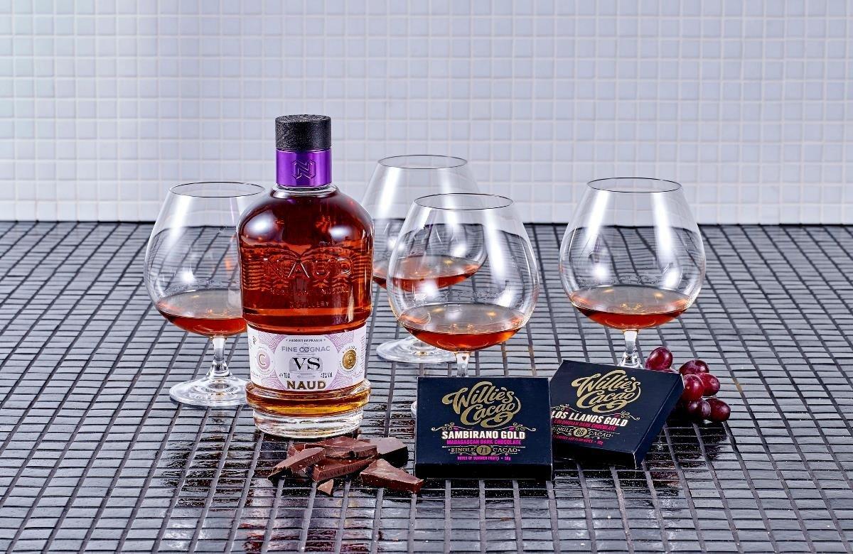 Image of   Vs Cognac & Glas Gaveæske