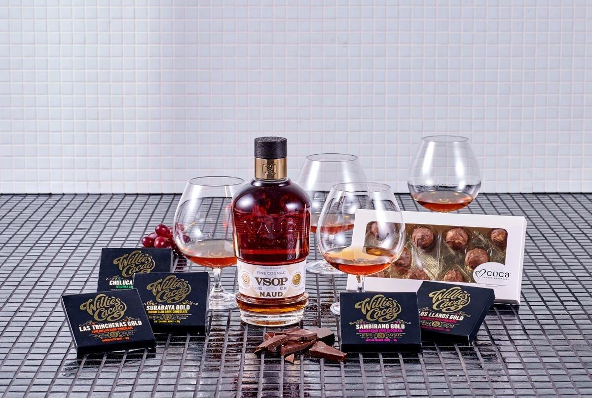 Image of   Vsop Cognac & Glas Gaveæske