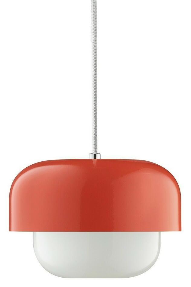 Image of   Haipot Pendel Lampe i rød H15 D23