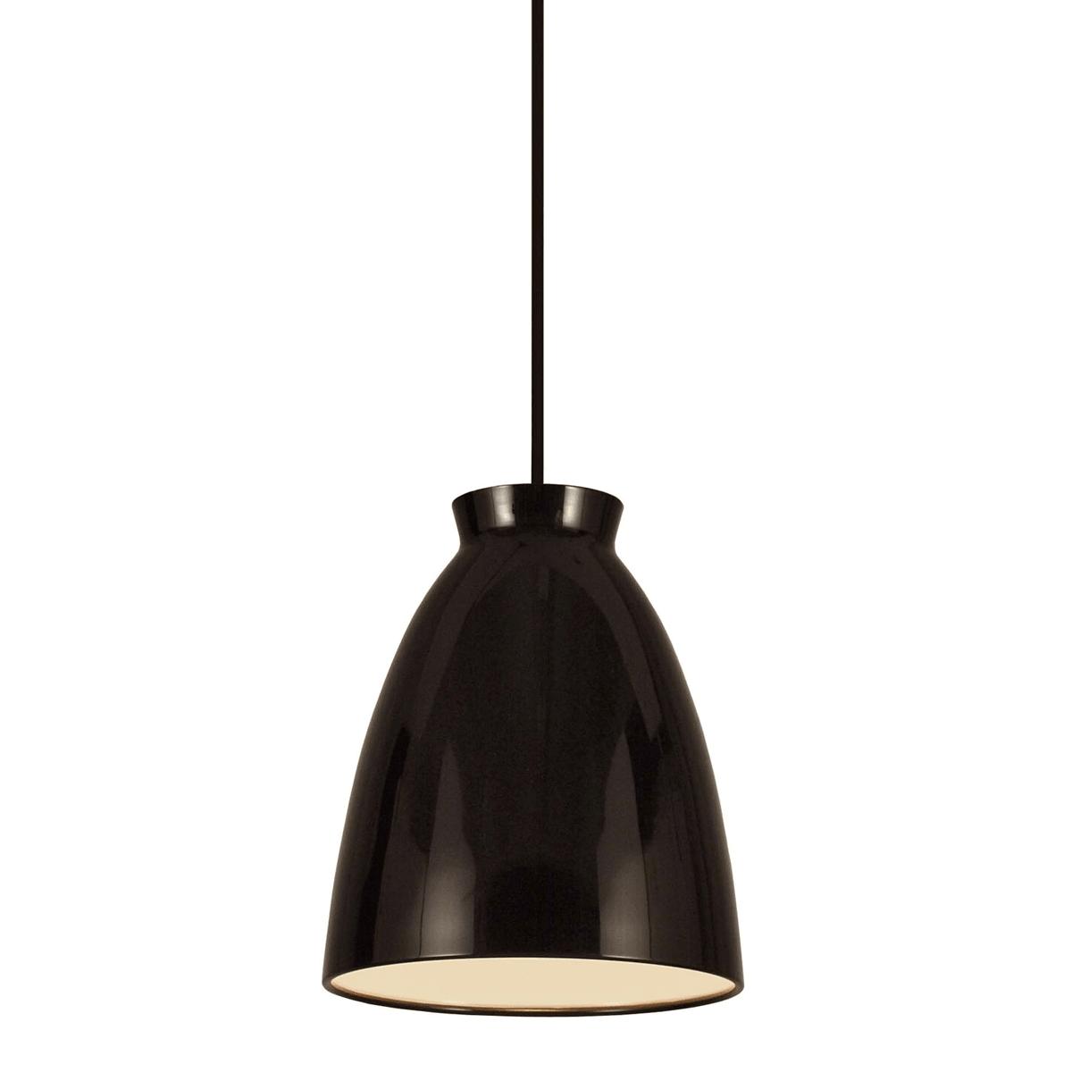 Image of   Milano Pendel Lampe Blank Sort H30 D30