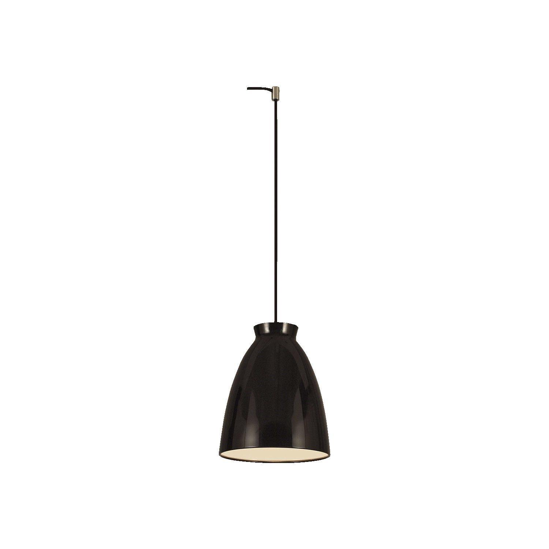 Image of   Milano Pendel Lampe Blank Sort H19 D19