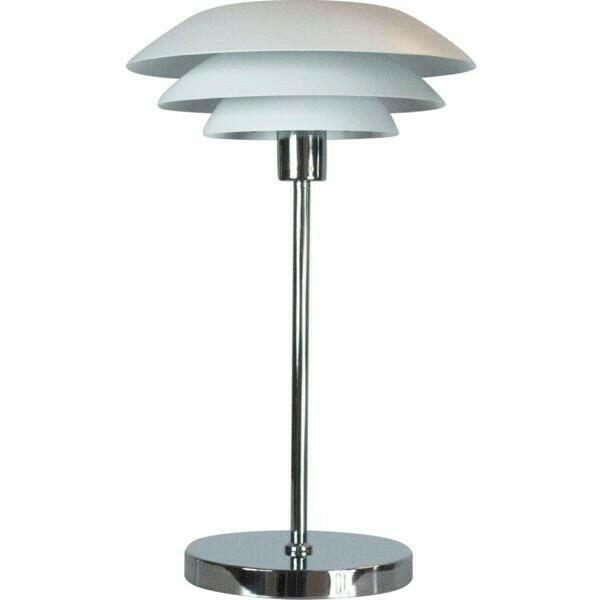 Image of   DL31 Bordlampe krom mat hvid H50 D31