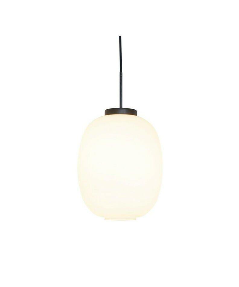 Image of   Dl39 Pendel Lampe Mat Hvid Opal Glas